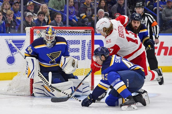 NHL | St. Louis Blues (8-11-3) at Detroit Red Wings (10-11-3)