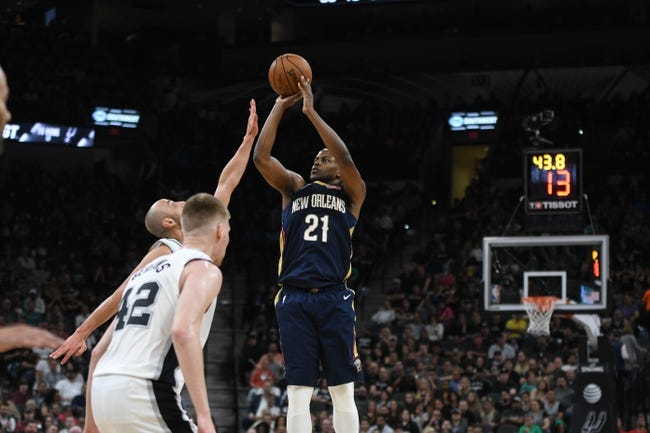 San Antonio Spurs vs. New Orleans Pelicans - 3/15/18 NBA Pick, Odds, and Prediction