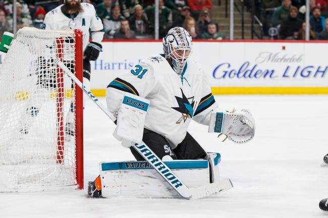 NHL | Minnesota Wild (44-26-11) at San Jose Sharks (45-26-10)