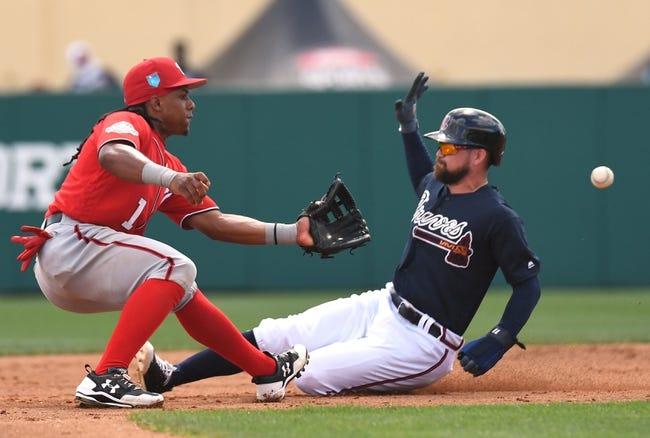 MLB | Washington Nationals (3-0) at Atlanta Braves (2-1)
