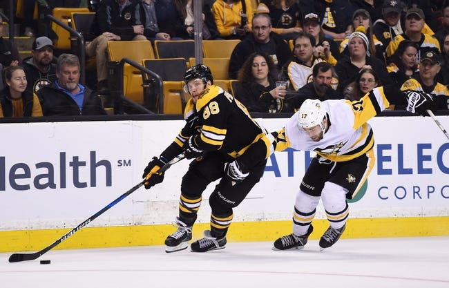 Boston Bruins vs. Pittsburgh Penguins - 11/23/18 NHL Pick, Odds, and Prediction