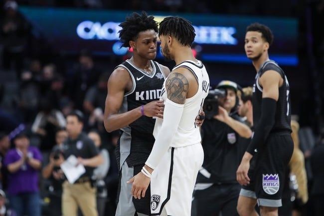 NBA   Sacramento Kings at Brooklyn Nets