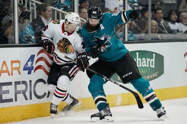 Chicago Blackhawks vs. San Jose Sharks - 3/26/18 NHL Pick, Odds, and Prediction