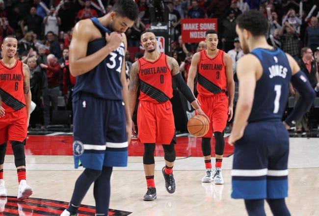 Portland Trail Blazers vs. Minnesota Timberwolves - 11/4/18 NBA Pick, Odds, and Prediction
