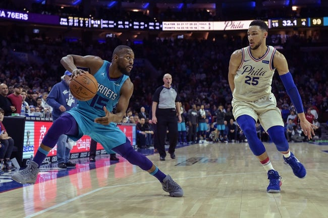 Charlotte Hornets vs. Philadelphia 76ers - 3/6/18 NBA Pick, Odds, and Prediction