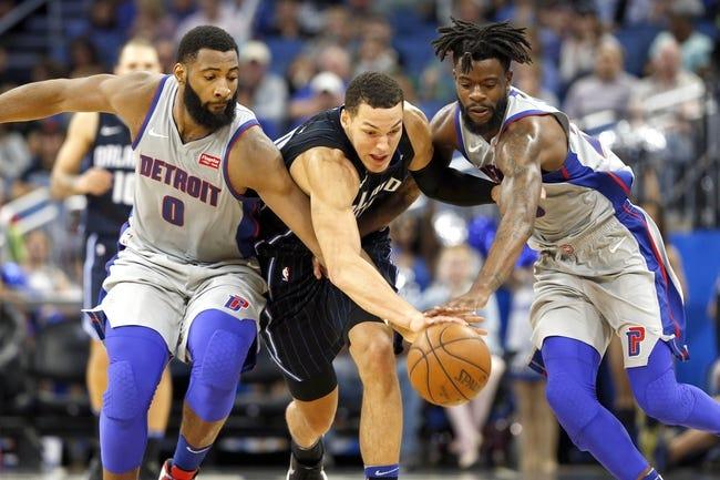 Orlando Magic vs. Detroit Pistons - 11/7/18 NBA Pick, Odds, and Prediction