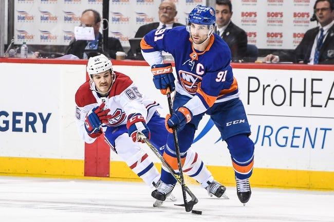 NHL | Montreal Canadiens (7-4-2) at New York Islanders (8-4-1)