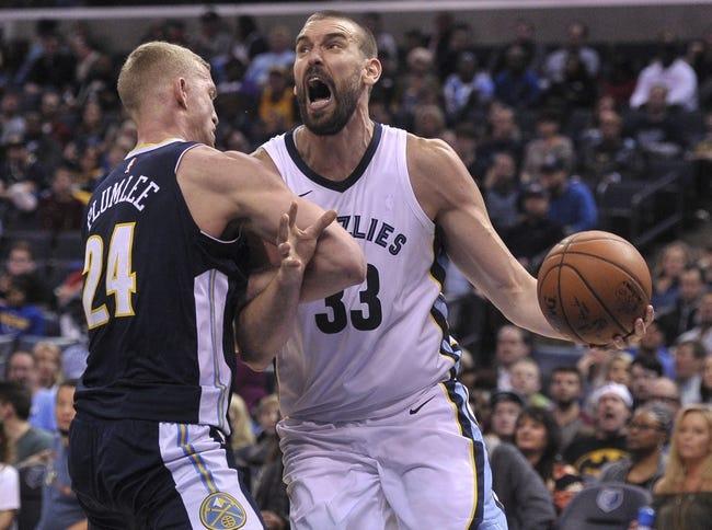 Memphis Grizzlies vs. Denver Nuggets - 3/17/18 NBA Pick, Odds, and Prediction
