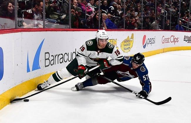 Minnesota Wild vs. Colorado Avalanche - 3/13/18 NHL Pick, Odds, and Prediction