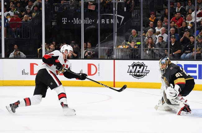 Vegas Golden Knights vs. Ottawa Senators - 10/28/18 NHL Pick, Odds, and Prediction