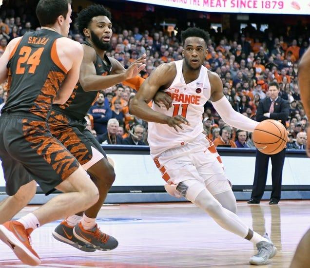 NCAA BB | Clemson at Syracuse