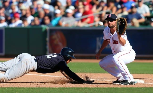 Boston Red Sox vs. New York Yankees - 4/10/18 MLB Pick, Odds, and Prediction