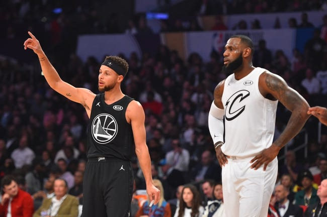Cleveland Cavaliers at Golden State Warriors - Game 1 - 5/31/18 NBA Pick, Odds, and Prediction