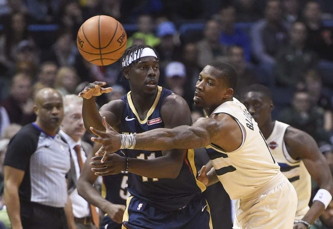 NBA   New Orleans Pelicans (15-16) at Milwaukee Bucks (20-9)