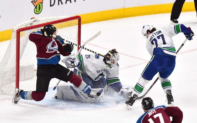 Vancouver Canucks vs. Colorado Avalanche - 11/2/18 NHL Pick, Odds, and Prediction