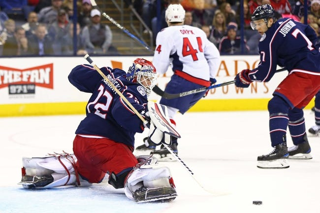 NHL | Columbus Blue Jackets (45-30-7) at Washington Capitals (49-26-7)