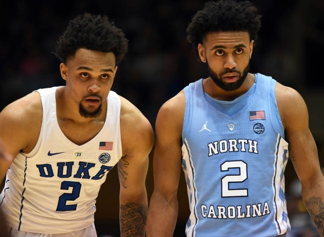 Duke vs. North Carolina - 3/9/18 College Basketball Pick, Odds, and Prediction