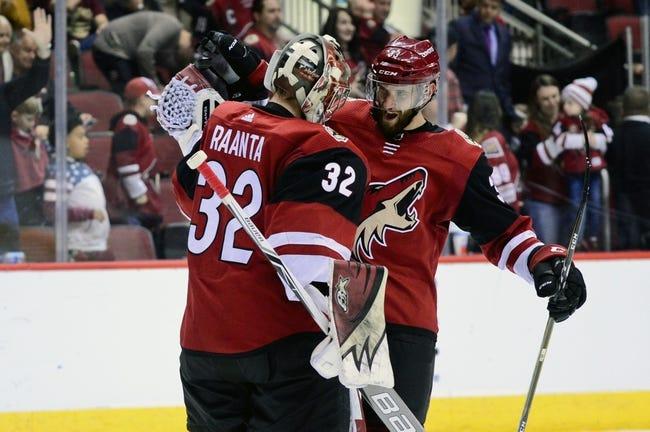 Arizona Coyotes vs. Ottawa Senators - 10/30/18 NHL Pick, Odds, and Prediction