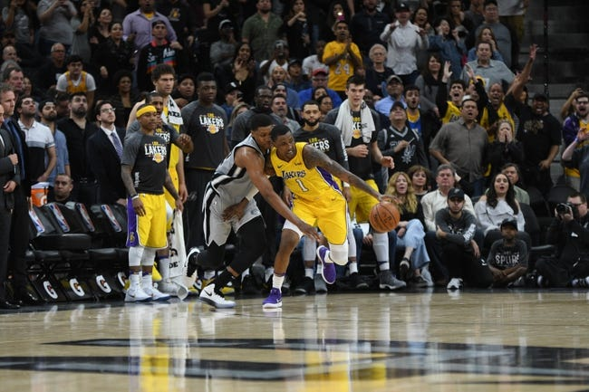 NBA | San Antonio Spurs (45-33) at Los Angeles Lakers (33-44)