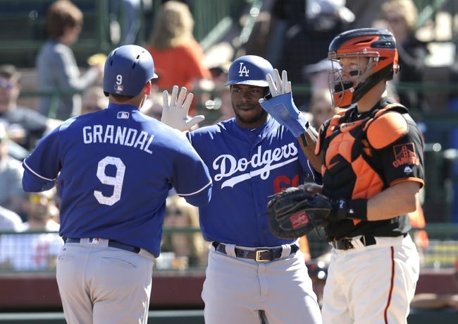 Los Angeles Dodgers vs. San Francisco Giants - 3/29/18 MLB Pick, Odds, and Prediction