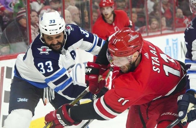 Winnipeg Jets vs. Carolina Hurricanes - 10/14/18 NHL Pick, Odds, and Prediction