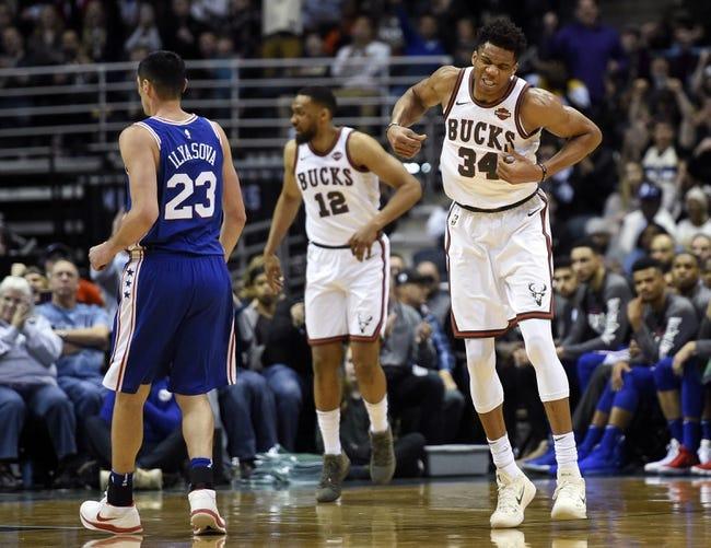 NBA | Milwaukee Bucks (44-37) at Philadelphia 76ers (51-30)