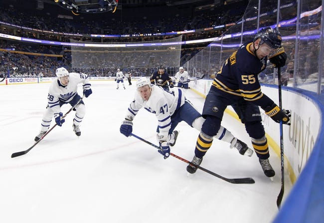 Buffalo Sabres vs. Toronto Maple Leafs - 3/15/18 NHL Pick, Odds, and Prediction