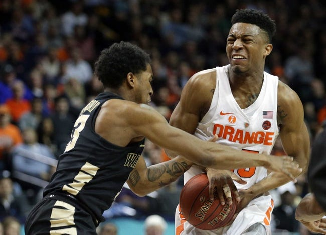 NCAA BB | Syracuse at Wake Forest