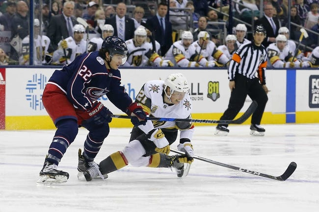 NHL | Vegas Golden Knights (19-14-2) at Columbus Blue Jackets (17-12-3)