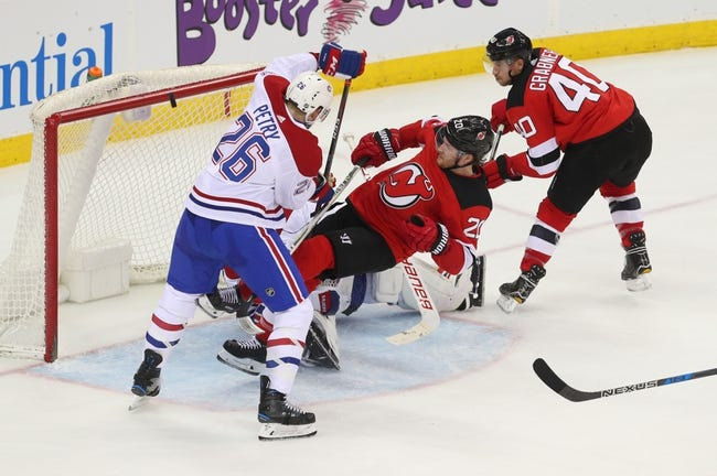 Montreal Canadiens vs. New Jersey Devils - 4/1/18 NHL Pick, Odds, and Prediction