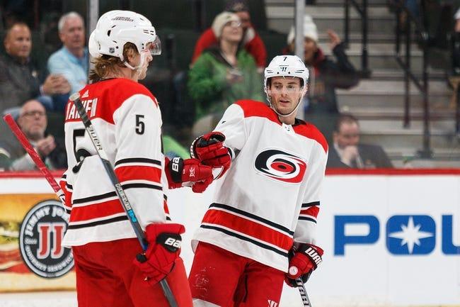NHL | Carolina Hurricanes (3-0-1) at Minnesota Wild (1-1-1)