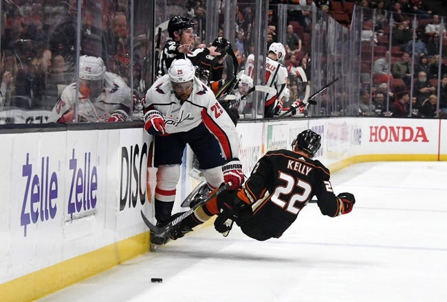 Washington Capitals vs. Anaheim Ducks - 12 2 18 NHL Pick 665d4cb5ce8a