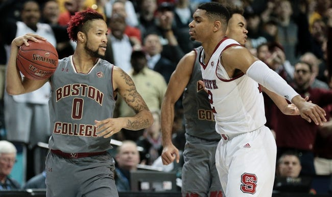 NCAA BB | Boston College at North Carolina State