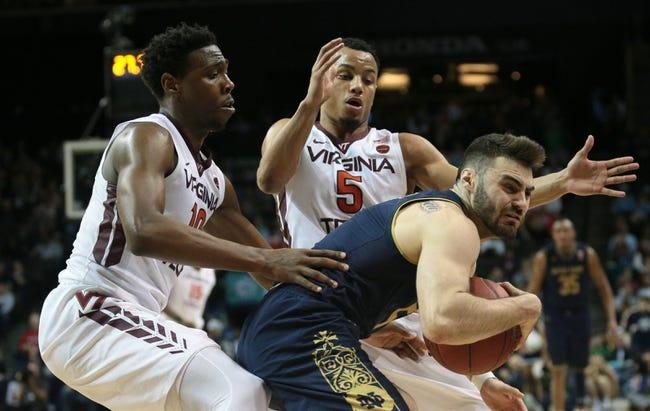 NCAA BB | Notre Dame Fighting Irish (10-3) at Virginia Tech Hokies (11-1)