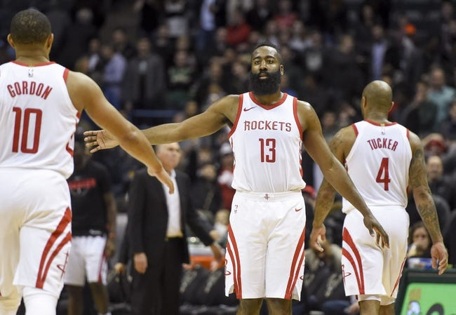 NBA | Milwaukee Bucks at Houston Rockets
