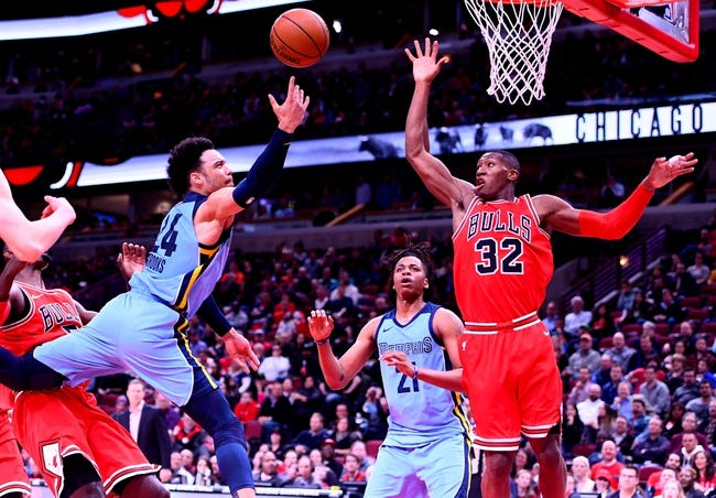 Memphis Grizzlies vs. Chicago Bulls - 3/15/18 NBA Pick, Odds, and Prediction