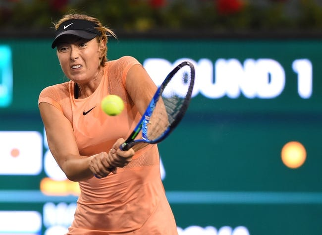 Maria Sharapova vs. Kristina Mladenovic 2018 Madrid Masters Tennis Pick, Preview, Odds, Prediction