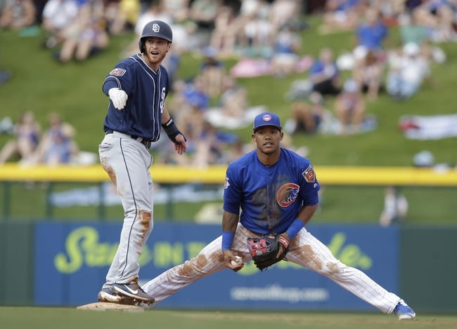 MLB | Chicago Cubs (52-38) at San Diego Padres (40-56)