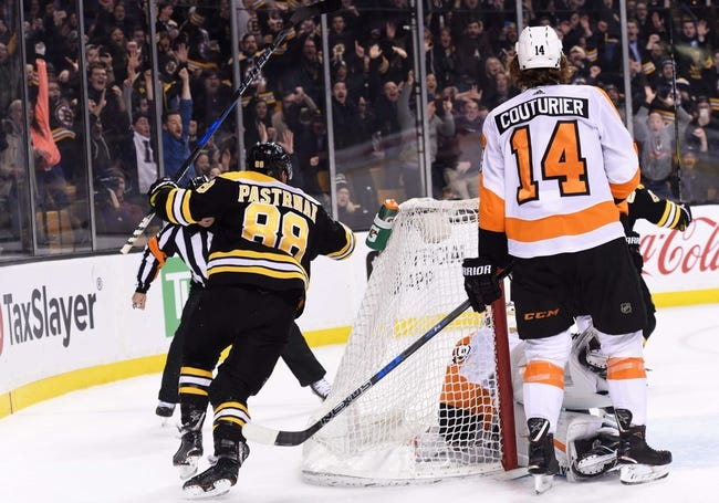 Philadelphia Flyers vs. Boston Bruins - 4/1/18 NHL Pick, Odds, and Prediction