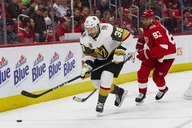 NHL | Vegas Golden Knights at Detroit Red Wings