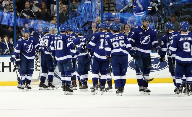 New York Rangers vs. Tampa Bay Lightning - 3/30/18 NHL Pick, Odds, and Prediction