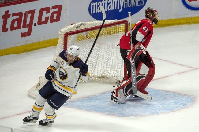 Buffalo Sabres vs. Ottawa Senators - 4/4/18 NHL Pick, Odds, and Prediction