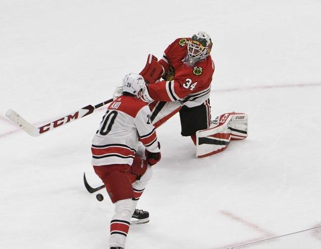 Chicago Blackhawks vs. Carolina Hurricanes - 11/8/18 NHL Pick, Odds, and Prediction