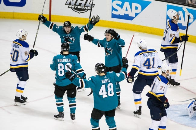 St. Louis Blues vs. San Jose Sharks - 3/27/18 NHL Pick, Odds, and Prediction