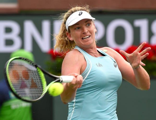 Coco Vandeweghe vs. Caroline Garcia 2018 Stuttgart Open Tennis Pick, Preview, Odds, Prediction