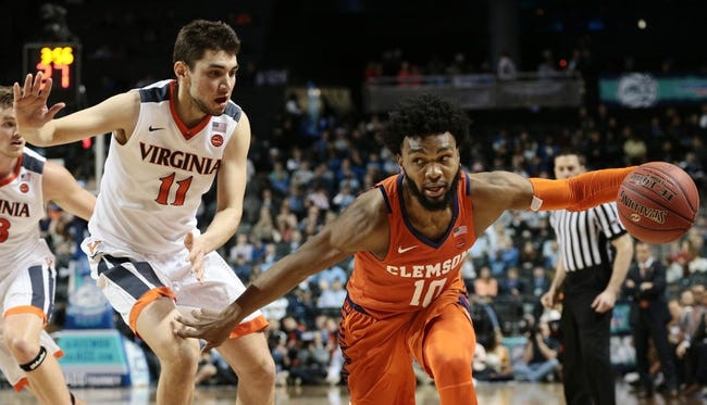 NCAA BB | Virginia at Clemson