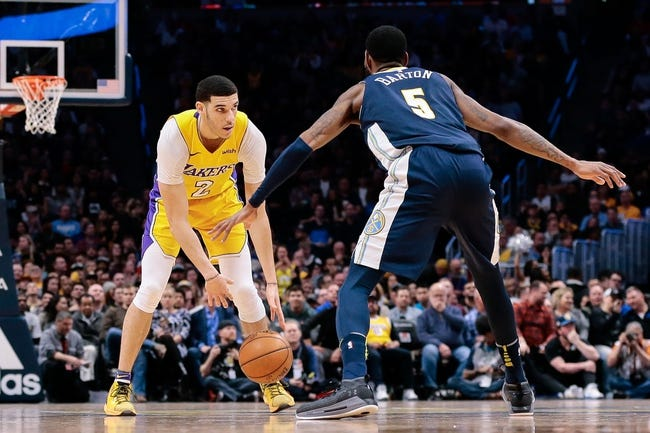 Los Angeles Lakers vs. Denver Nuggets - 3/13/18 NBA Pick, Odds, and Prediction