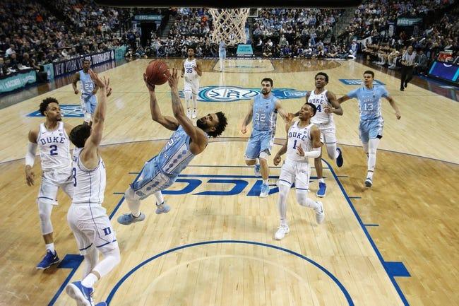 NCAA BB   North Carolina at Duke