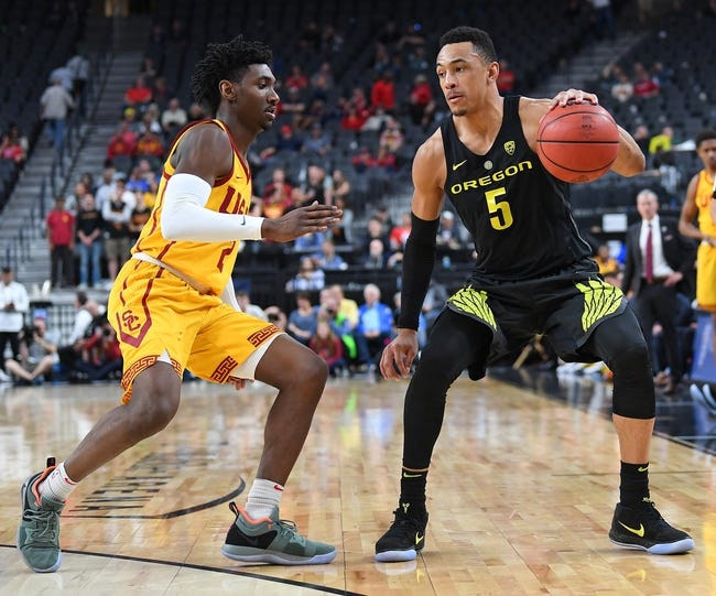 NCAA BB | USC at Oregon