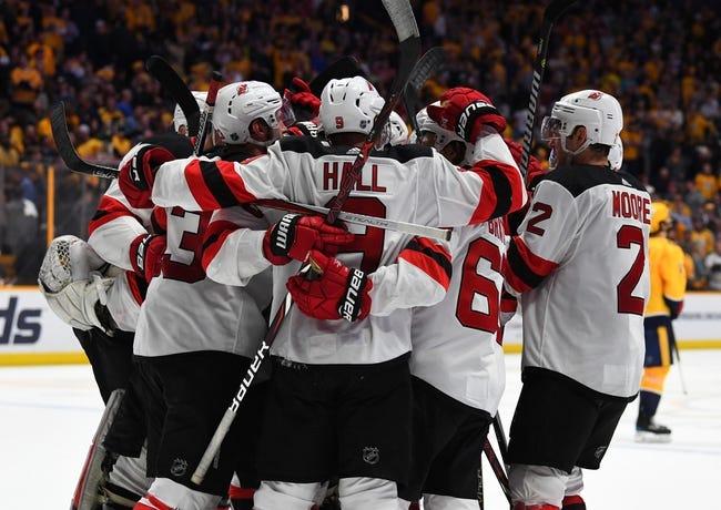 NHL | Nashville Predators (7-2-0) at New Jersey Devils (4-2-0)